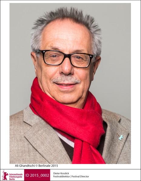 ベルリン映画祭ディレクター、ディーター・コスリック  Ali Ghandtschi©Berlinale 2015