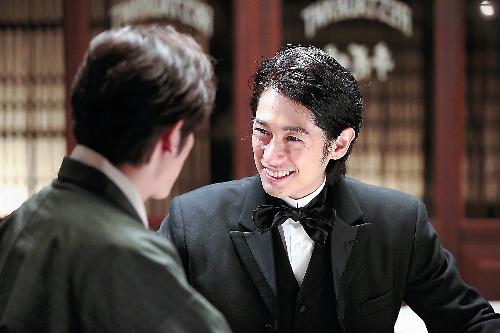 「あさが来た」で五代友厚役を演じるディーン・フジオカさん=NHK提供