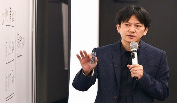 写真・図版:立憲デモクラシー講座・石川健治教授
