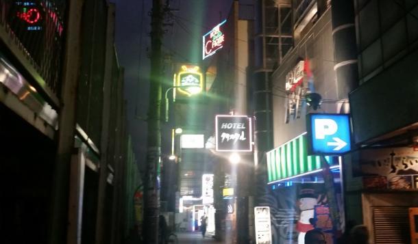 ラブホテル街が広がる=台東区