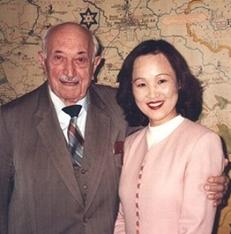 ウィーゼンタール氏と1996年ウィーンで