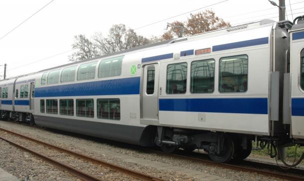 常磐線の2階建てグリーン車2006年