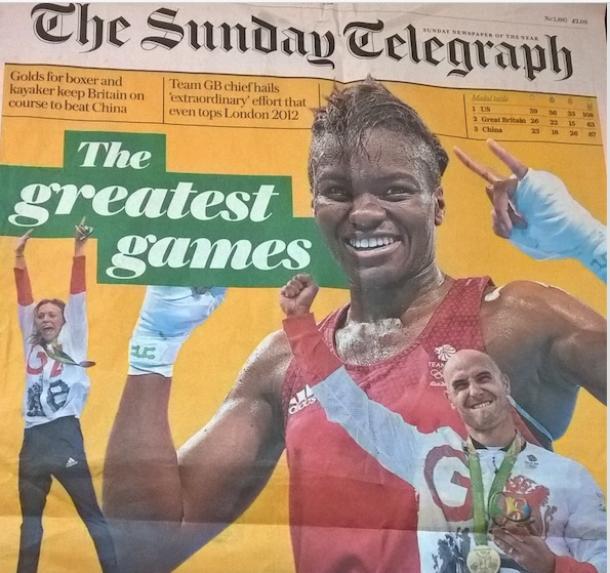 サンデー・テレグラフ紙の「偉大な五輪」報道