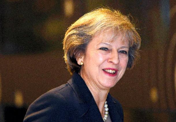 イギリスのメイ首相=ロイター