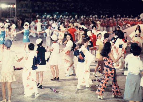 お祭り広場では9月7日から12日にかけて「さよなら万国博」