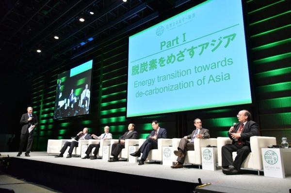 自然エネルギー財団は今年9月、設立5周年シンポジウムを開いた