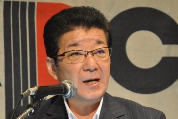波紋をさらに広げたのが、松井一郎大阪府知事