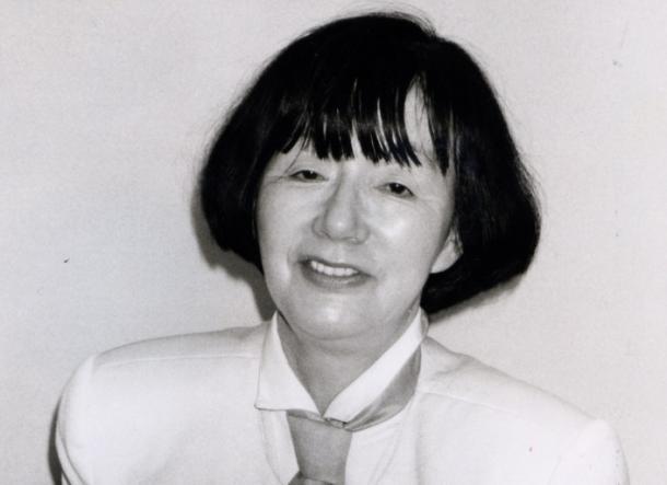 写真・図版 : 吉永春子さん=1991年