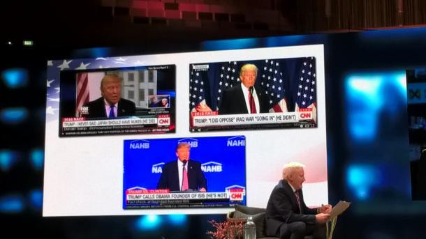 米大統領選を振り返る動画 「トランプ現象」のセッションから(News Xchange撮影)