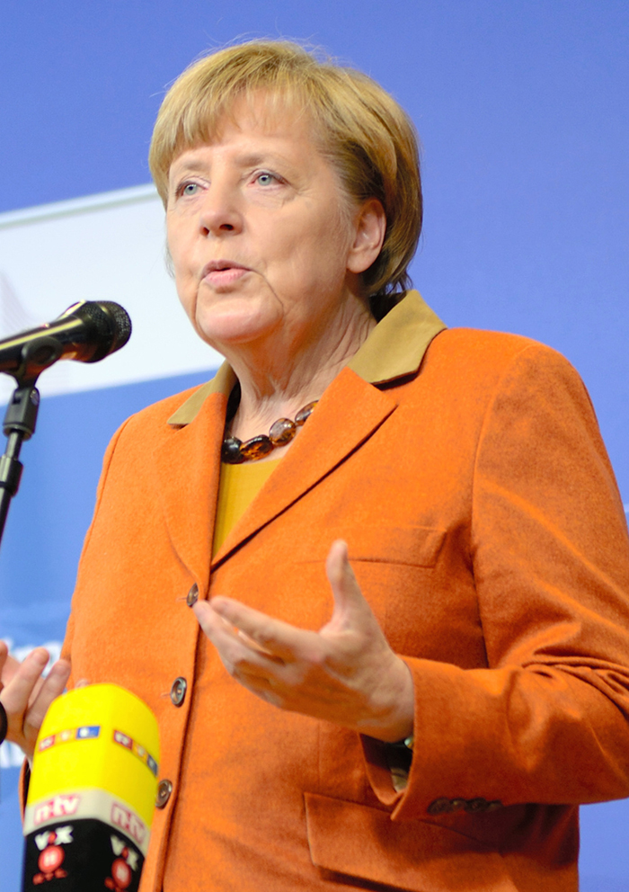 写真・図版 : ドイツのメルケル首相