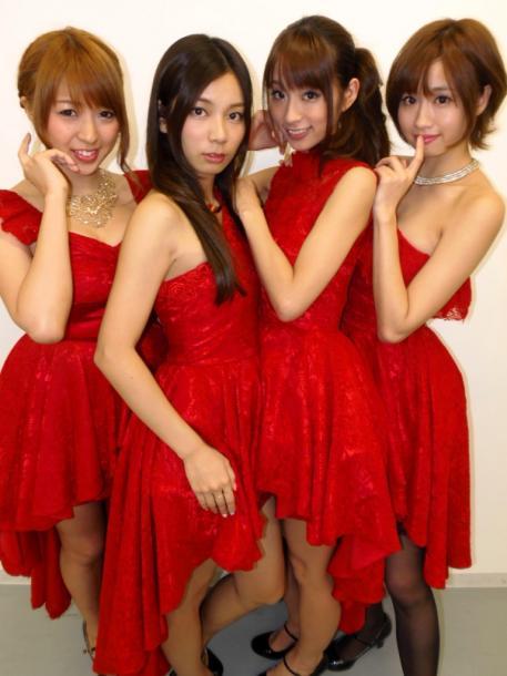 写真・図版 : Predia(左から林弓束、村上瑠美奈、前田ゆう、青山玲子)=2014年