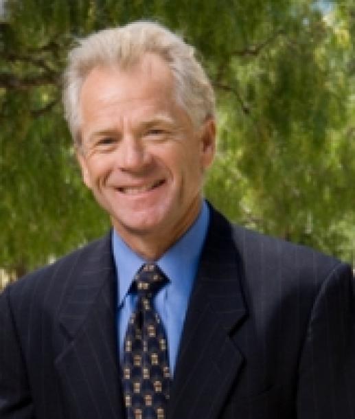 カリフォルニア大アーバイン校のピーター・ナバロ教授=同大ホームページから