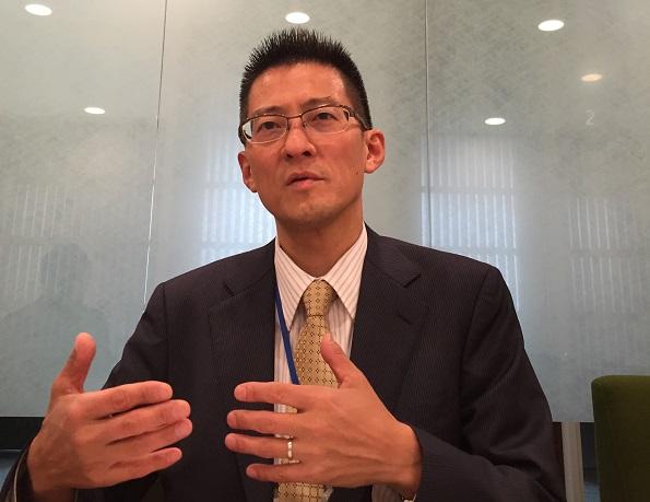 写真・図版 : 日本人で唯一、TCFDメンバーとして提言案のとりまとめに尽力した長村政明さん