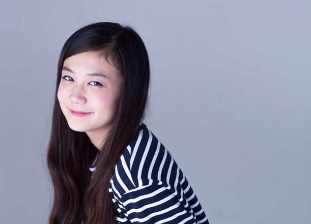 NHK朝の連続テレビ小説「まれ」に出演していた清水富美加さん=2015年6月10日、東京都渋谷区