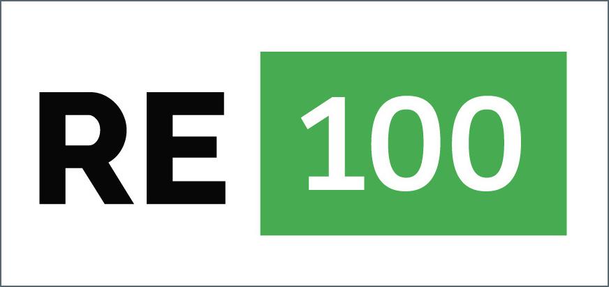 写真・図版 : RE100のロゴ