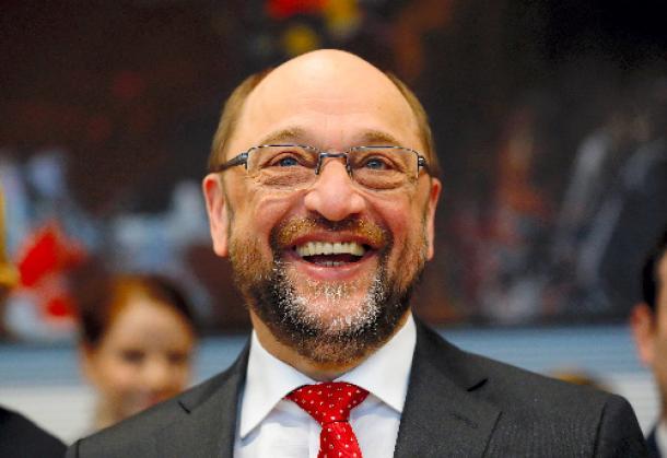 写真・図版 : 社会民主党のシュルツ前欧州議会議長=ロイター