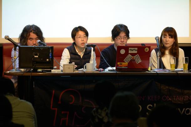 写真・図版 : (左から)山崎憲さん、清水直子さん、大西連さん、藤川里恵さん