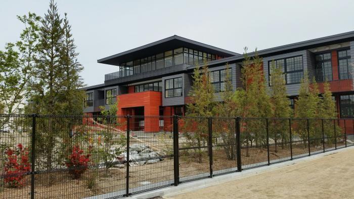 森友学園が開校を目指した小学校の校舎