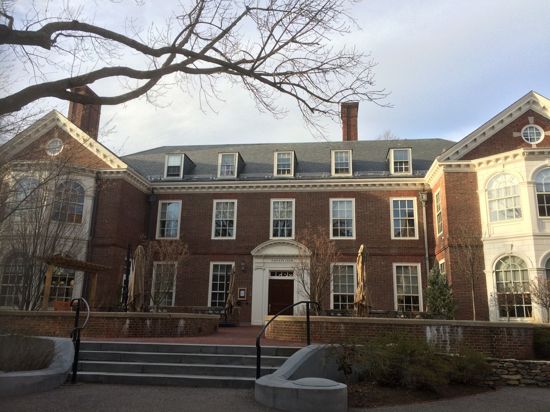 写真・図版 : ハーバード大学ファカルティクラブ