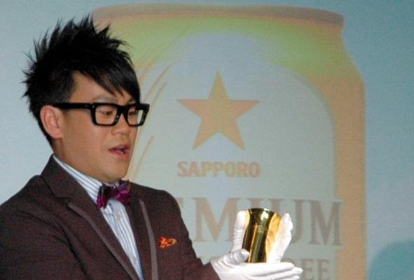 Amazonプライムのドキュメンタリー番組「ドキュメンタル」に出演している宮川大輔=2012年、東京都港区