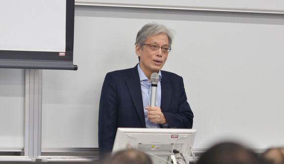 写真・図版:立憲デモクラシー講座2017山口二郎教授