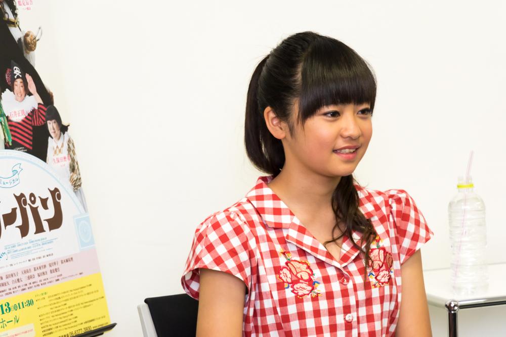 写真・図版 : ブロードウェイミュージカル『ピーターパン』に出演する吉柳咲良=安田新之助撮影