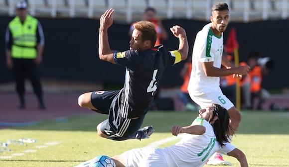 サッカー日本代表、イラクと引き分けの得失
