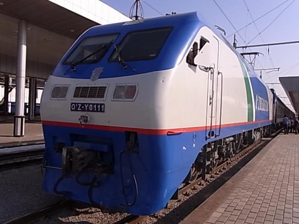 特急列車シャルク号の機関車