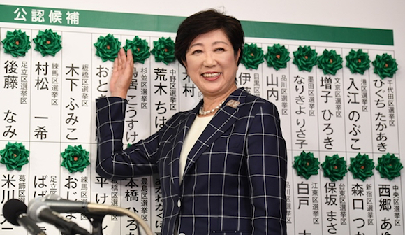 東京都議選で小池百合子氏が圧勝した理由