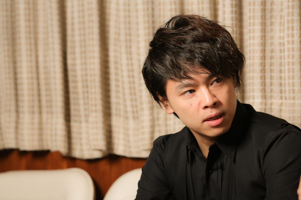 写真・図版 : ミュージカル『ビューティフル』に出演する中川晃教=宮川舞子撮影