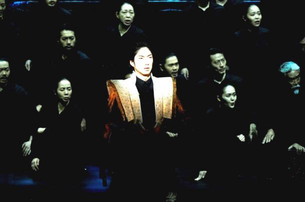 写真・図版 : 世田谷パブリックシアター開場20周年記念公演『子午線の祀り』  撮影:細野晋司