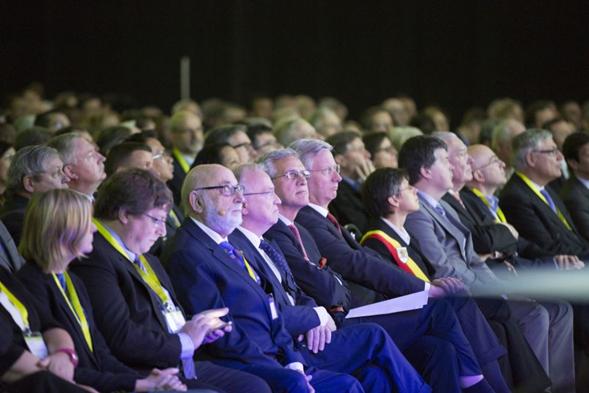 写真・図版 : ベルギーで2014年に開かれた「世界科学館サミット2014」