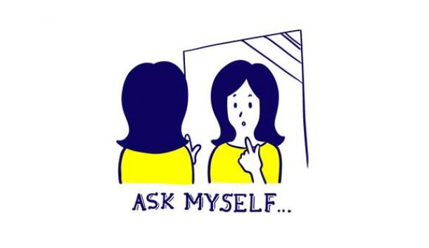 写真・図版 : ASK MYSELF……