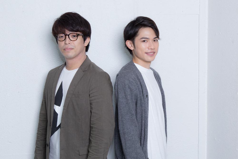 写真・図版 : 吹原幸太(左)と百名ヒロキ=冨田実布撮影