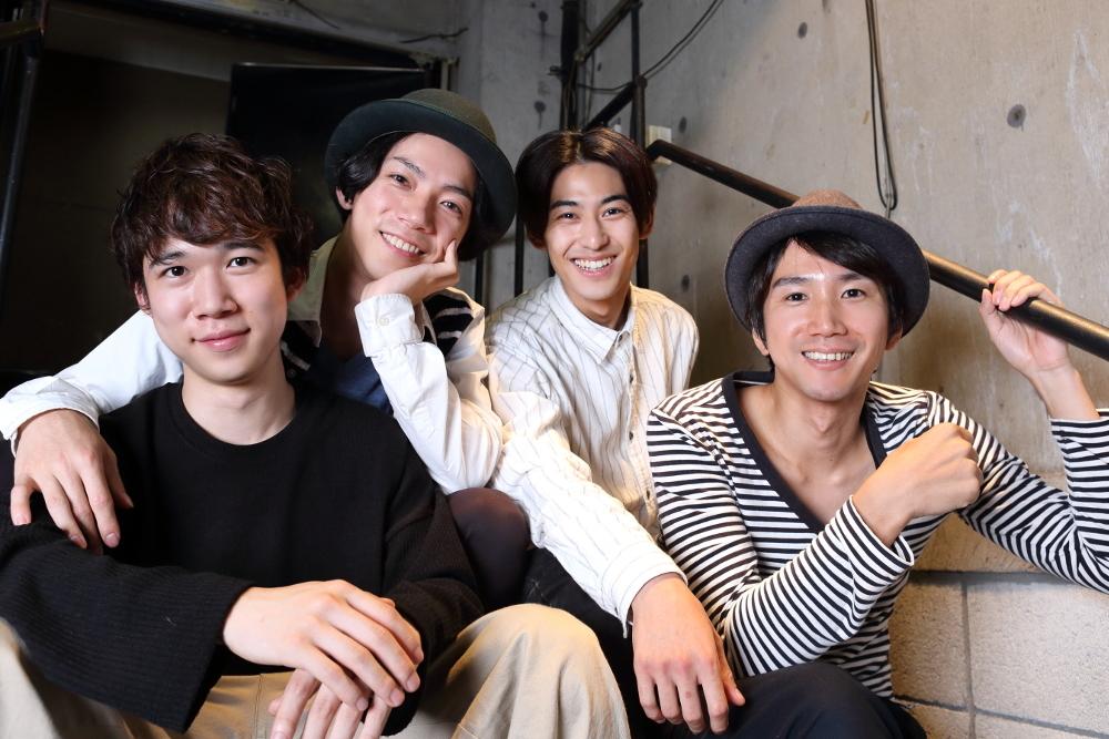 写真・図版 : 左から、千葉健玖、田中俊裕、久保優二、仲原裕之=伊藤華織撮影