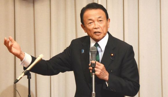麻生太郎氏「難民射殺」発言、その真意は?