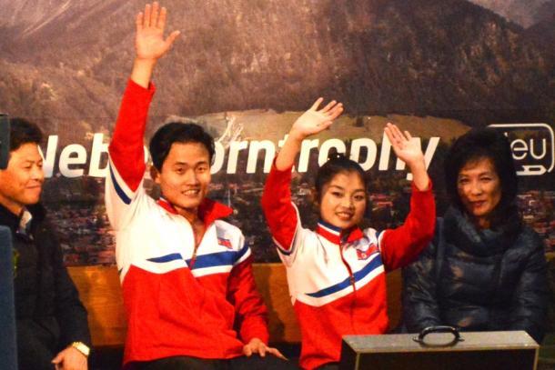 平昌五輪出場枠を獲得した北朝鮮ペア、リョム・テオク、キム・ジュシク組