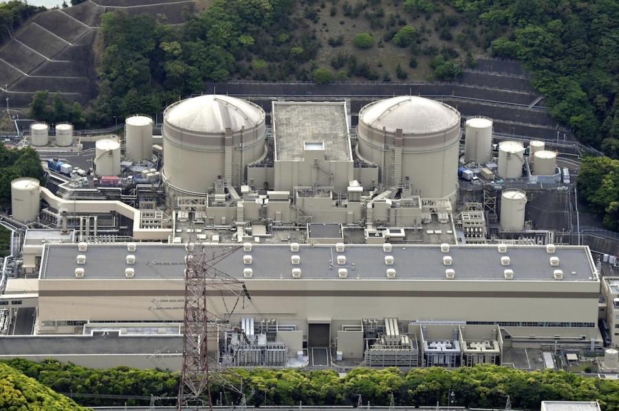 写真・図版 : 関西電力大飯原発=本社ヘリから