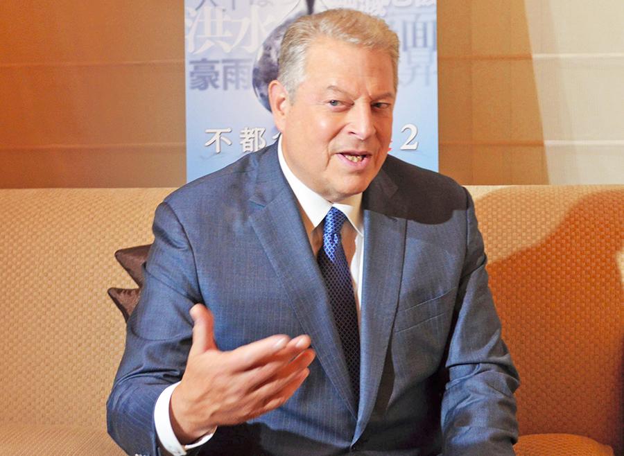来日したアル・ゴア氏に聞く「気候変動との戦い」