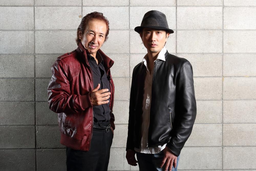写真・図版 : 沢木順(左)と山本芳樹=伊藤華織撮影