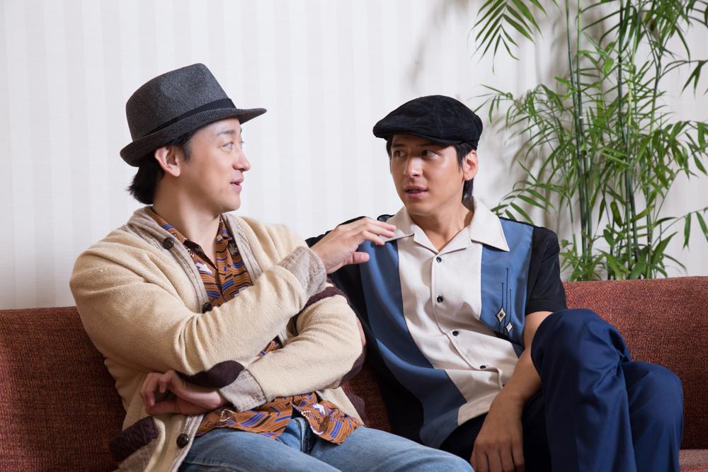 写真・図版 : おまけ…話が止まらないお二人でした=冨田実布撮影