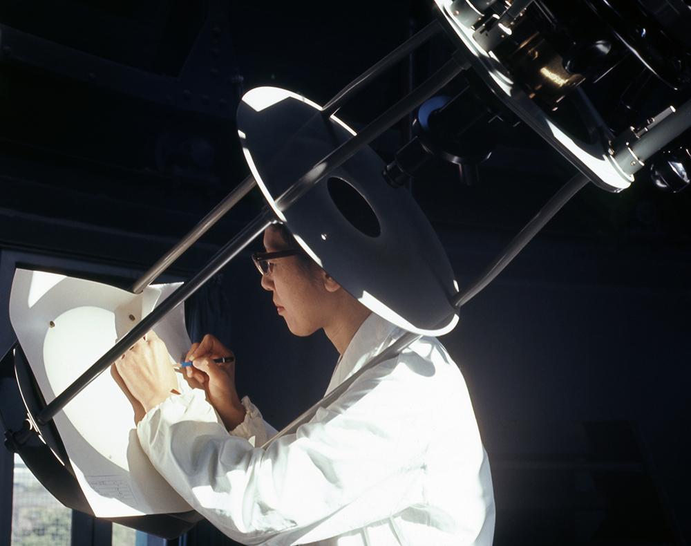 再評価される太陽黒点観測家の故・小山ヒサ子さん