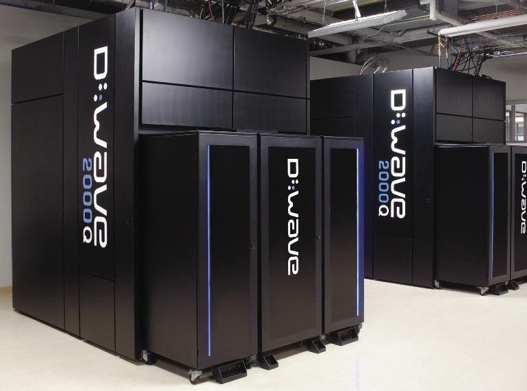 写真・図版 : カナダの企業が開発した世界初の量子コンピューター「Dウェーブ」