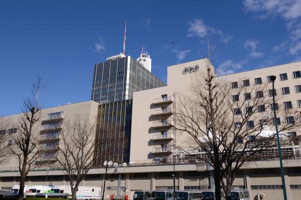 NHK放送センター(撮影:吉永考宏)