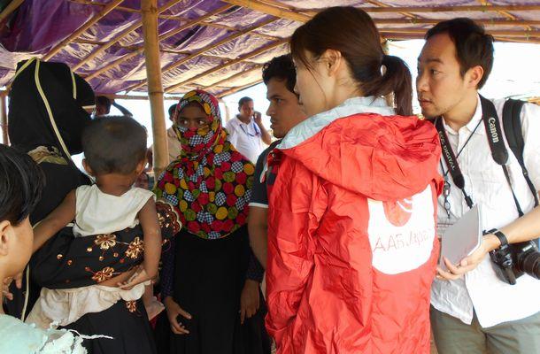 人道支援の現場で薄れゆく日本の存在感