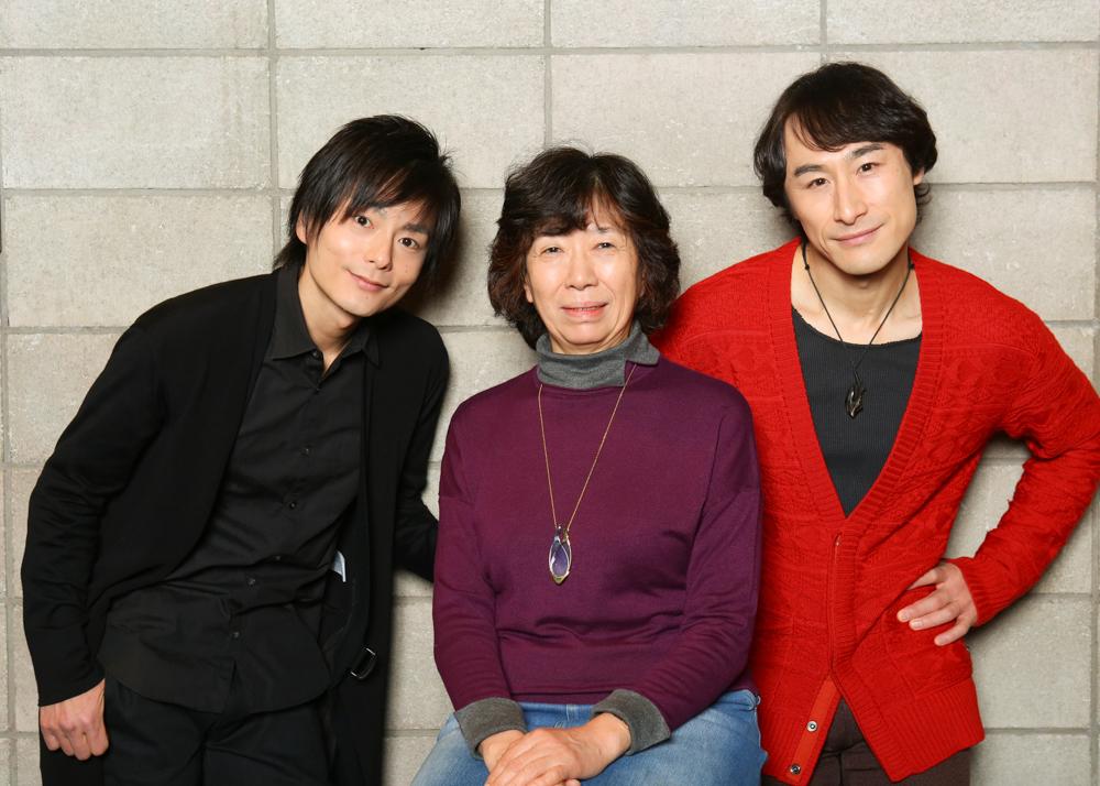 写真・図版 : 左から、松本慎也、倉田淳、曽世海司=宮川舞子撮影