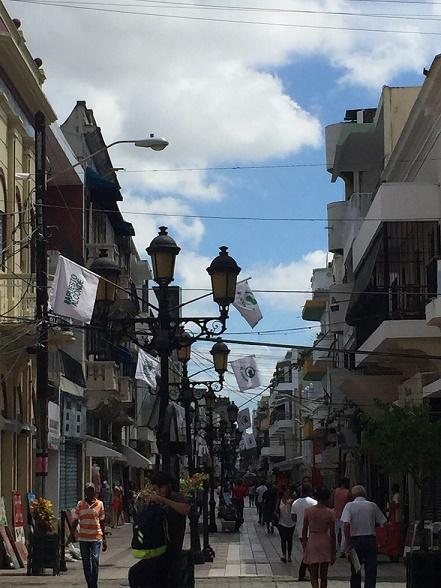 写真・図版 : 首都サントドミンゴの旧市街