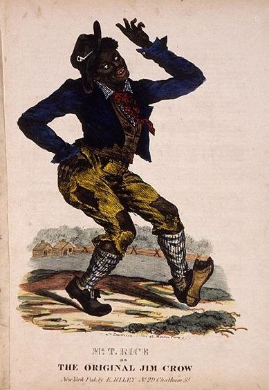 写真・図版 : 【写真 3】 ジム・クロウ   https://commons.wikimedia.org/wiki/File:Jimcrow.jpg