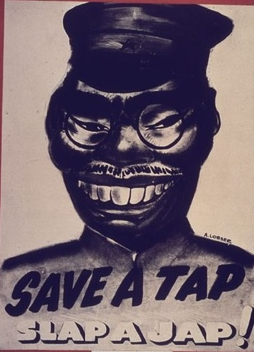 【写真3】  https://commons.wikimedia.org/wiki/File:Save_A_Tap._Slap_A_Jap%5E_-_NARA_-_533908.jpg?uselang=ja
