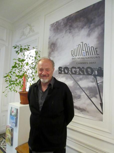 監督週間ディレクター、エドゥアール・ワイントロップ氏。撮影筆者